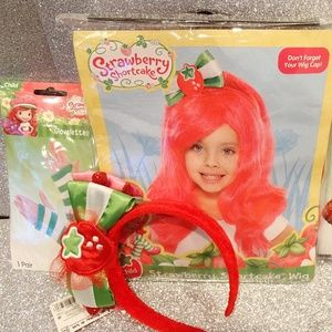 Other - Birthday Party Dress-up set: Strawberry Shortcake